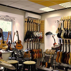 Музыкальные магазины Вяземского